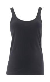 Jeans West 'Jenni Basic Singlet' Black