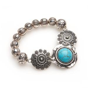 Sussan Turquoise Disc Bracelet