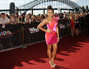 Jessica Mauboy Best Dressed at the 2010 Aria Awards in Toni Maticevski