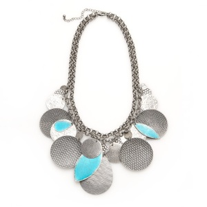 Sussan Multi Disc Necklace