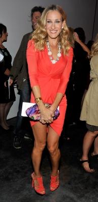 Sarah Jessica Parker at Mercedes Benz Fashion Week