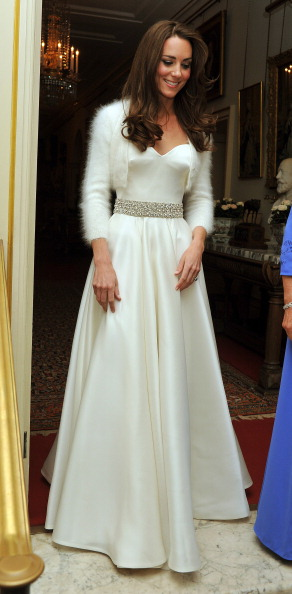 Kate middleton style stop catherine middletons wedding reception gown image taken from httpgossipcopkate middleton reception dress evening gown pics junglespirit Image collections