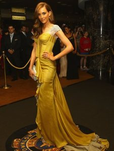 Rebecca Judd at 2011 Brownlow Medal