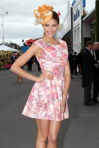 Rachael Finch 2011 Melbourne Cup Carnival