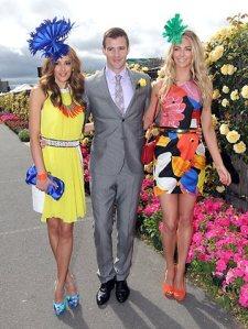 Rebecca Judd, Kris Smith & Jennifer Hawkins-2011 Melbourne Cup Carnival