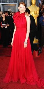 Emma Stone 2012 Oscars in Giambattista Valli