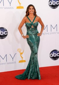 Sofia Vergara 2012 Emmys in Zuhair Murad Couture