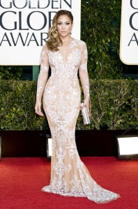 Jennifer Lopez at the 2013 Golden Globes in Zuhair Murad Couture