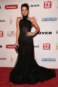 Kate Ritchie at the 2013 Logies in Steven Khalil