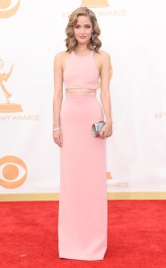 Rose Byrne at the 2013 Emmy Awards in Calvin Klein Collection