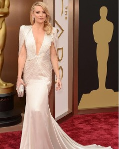 Kate Hudson at the 2014 Oscars in Atelier Versace