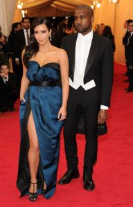 Kim Kardashian at the 2014 Met Ball in Lanvin