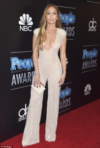 Jennifer Lopez at the 2014 People Magazine Awards in Zuhair Murad Couture