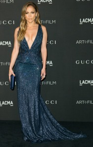 Jennifer Lopez at the 2014 LACMA Art and Film Gala in GUCCI