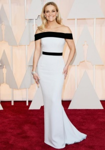 Reese Witherspoon wearing Tom Ford at the 2015 Oscars
