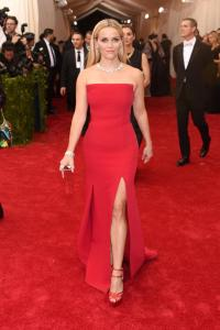 Reese Witherspoon at the 2015 Met Ball in Jason Wu